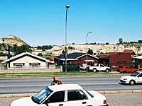 Spuren des einstigen Minen-Reichtums: Johannesburg.
