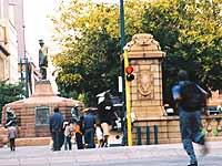 Downtown: Pretoria, die Hauptstadt Südafrikas.