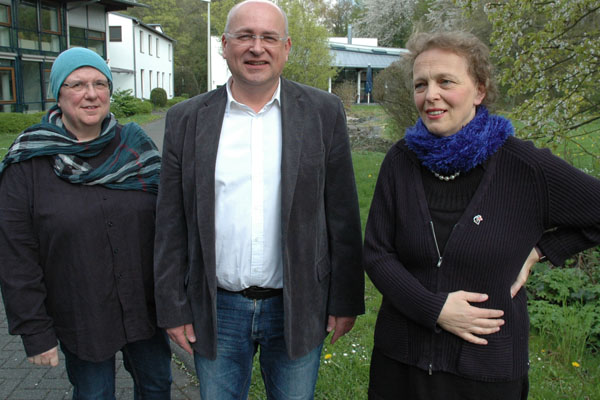 Islamwissenschaftlerin Rabeya Müller, Professor Gotthard Fermor, Pfarrerin Dorothee Schaper.