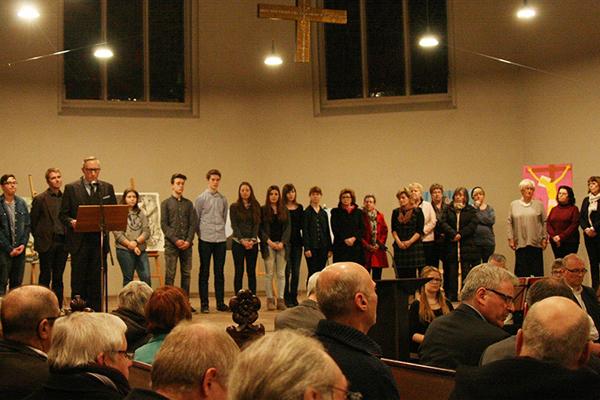 Bei einem Empfang in der Saarbrücker Johanneskirche wurde der Ehrenamtspreis der Evangelischen Kirchen und der Diakonie im Saarland verliehen.