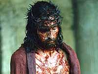 Zerschundene Kreatur: Jesus mit der Dornenkrone.