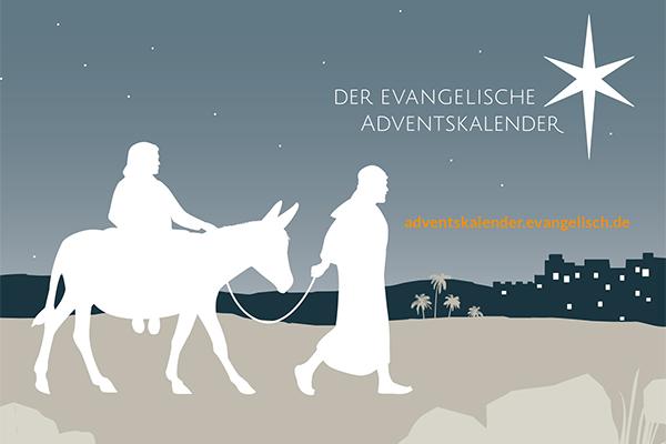 Hinter jedem Türchen des evangelischen Adventskalenders verbirgt sich ein Video zum Thema Heimat.
