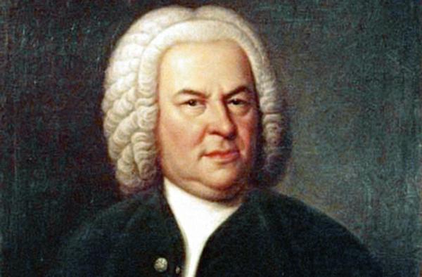 Porträt von Johann Sebastian Bach, Öl auf Leinwand, von Elias Gottlob Haussmann, Ausschnitt. Foto: wikimedia.org
