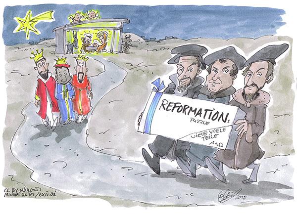 Cartoon: ekir.de / Michael Hüter