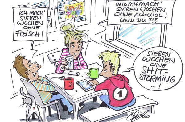 Karikatur: Michael Hüter
