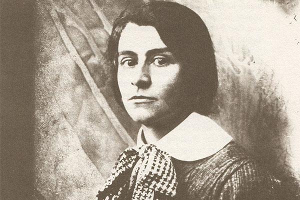 Else Lasker-Schüler 1917 (Foto: Wikicommons)