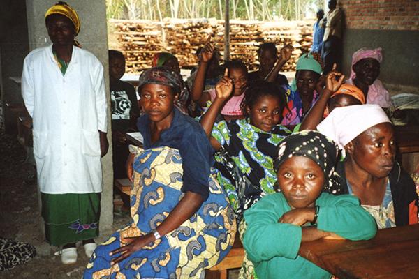 Vergewaltigte Frauen werden im Krankenhaus 'Panzi':medizinisch versorgt und betreut.
