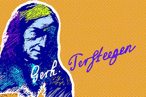 Wie sah Gerhard Tersteegen aus? Von dem Laienprediger und Liederdichter gibt es keine gesicherte wirklichkeitsgetreue Abbildung.