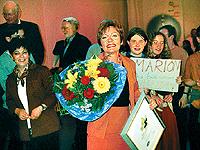 Zweiter Platz: Pfarrerin Marion Kunz.