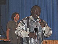 Zu Gast in Kaiserswerth: Pastor John Wesley Kabango aus Ruanda.