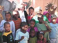 Im Waisenhaus in Windhoek.