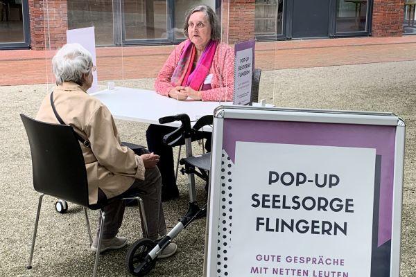 Pop-Up-Seelsorge