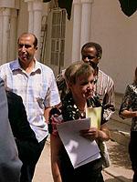 Sorgte für Diskussion unter den Teilnehmerinnen und Teilnehmern: Professor Kounda aus Rabat (links im Bild)