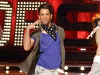 Kandidat beim Fernsehcontest Popstars on stage: Aziz Kruezi. Foto: ProSieben/Oliver S.