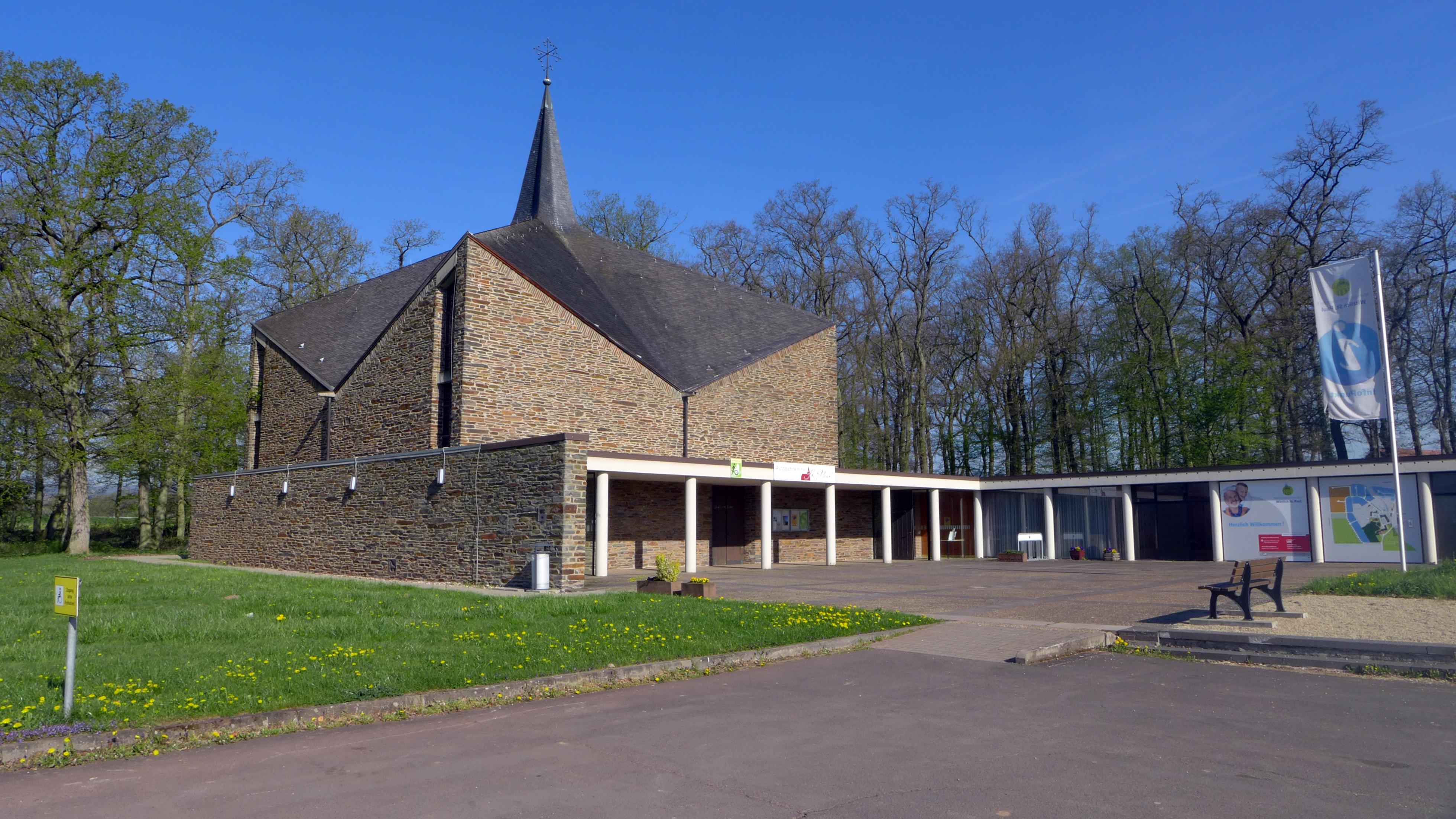 Autobahnkirche St. Paul in Wittlich