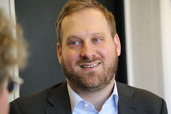 Jehoschua Ahrens ist Rabbiner und einer der Initiatoren der Erklärung orthodoxer Rabbiner.