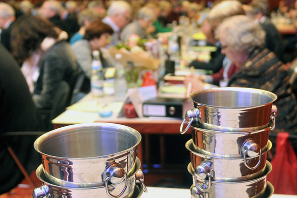 Die nächste Landessynode wird turnusgemäßig Kirchenleitungspositionen zu wählen haben. Foto ekir.de-Archiv/Vollrath