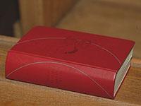 Lobpreis Gottes: Das Gesangbuch gilt seit 1996.