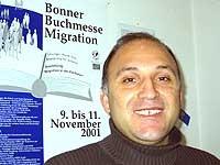 Initiator der Buchmesse Migration: Dr. Hidir Celik.