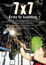 """Erfolgreiche Aktion gegen den Lehrstellenmangel: """"7 x 7 - Kirche für Ausbildung""""."""