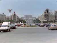 Eines der Reiseziele: die rumänische Hauptstadt Bukarest.