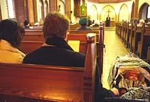 Positive Entwicklung: Mehr Menschen besuchen die Gottesdienste.