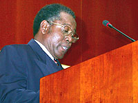 Erinnerung zur Versöhnung: Generalsekretär Henog Kamho.