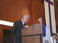 Steuerte den Strukturprozess: Vizepräsident Christian Drägert.