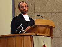 Superindentent Manfred Rekowski predigte im Eröffnungsgottesdienst.