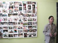 Ian Swartz, der Leiter des Rainbow Projects in Winhoek
