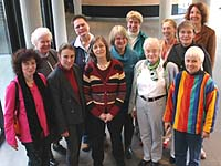Delegierte der Evangelischen Frauenarbeit im Rheinland.