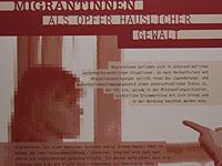 Migrantinnen werden unter anderem Opfer häuslicher Gewalt.