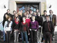 18 Schülerinnen und Schüler informierten sich über das Theologiestudium.
