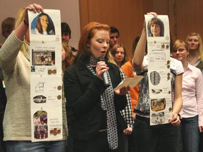 Das Osterfelder Team bietet auch anschauliches Informationsmaterial zum Thema fairer Handel.