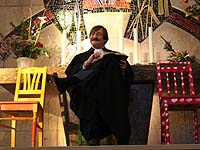 Drei von vierzig Stühlen: Oberkirchenrat Klaus Eberl.
