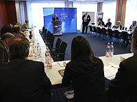 Pressekonferenz zum Präsesbericht in Bad Neuenahr.