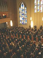 In der Martin-Luther-Kirche in Bad Neuenahr wurde der Eröffnungsgottesdienst der Landessynode gefeiert.