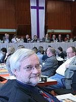 """Ulrich Hamacher ist """"sehr gespannt"""" auf die Landessynode gewesen."""