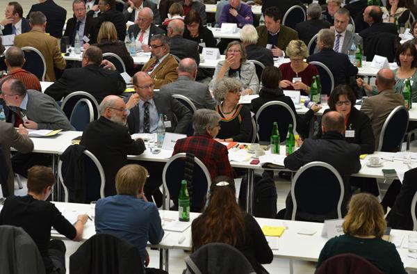 Blick ins Plenum der Landessynode
