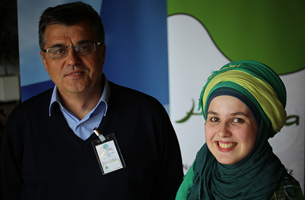 Richard Brand und Mona Nielen, beide engagiert im Umweltschutz.