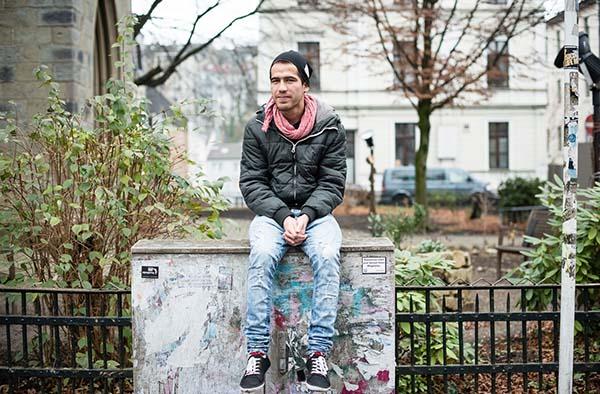 Behzad kam als minderjähriger Flüchtling nach Deutschland.