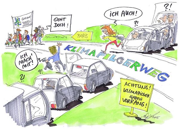 'Geht doch!', findet auch unser Cartoonist Michael Hüter.