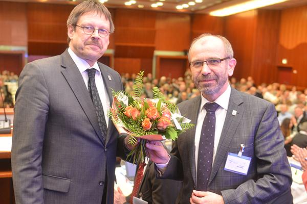 Vizespräses Christoph Pistorius bleibt Leiter der Abteilung 2 (Personal).