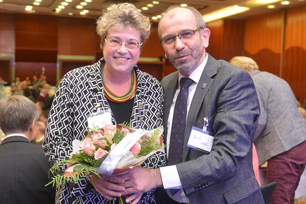 Oberkirchenrätin Barbara Rudolph bleibt Leiterin der Abteilung 1 (Theologie und Ökumene).