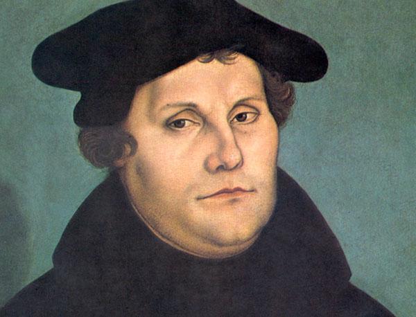 Luther-Bildnis von Lucas Cranach der Ältere, ca. 1529