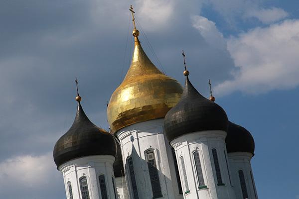 Pskow, Kreml mit der Dreifaltigkeitskathedrale