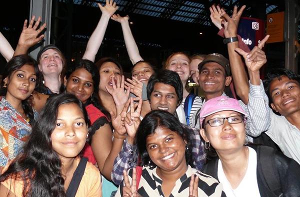 Nachdem die Kommilitonen im vorigen Jahr in Bonn waren, fliegen nun Bonner Studierende nach Südindien.