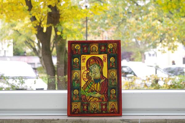 In der orthodoxen Kirche gehört die Verehrung der Ikone zur Frömmigkeit.