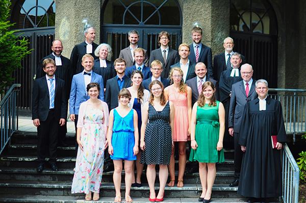Absolventinnen und Absolventen des Johanneums 2015. Foto: Myriam Geister