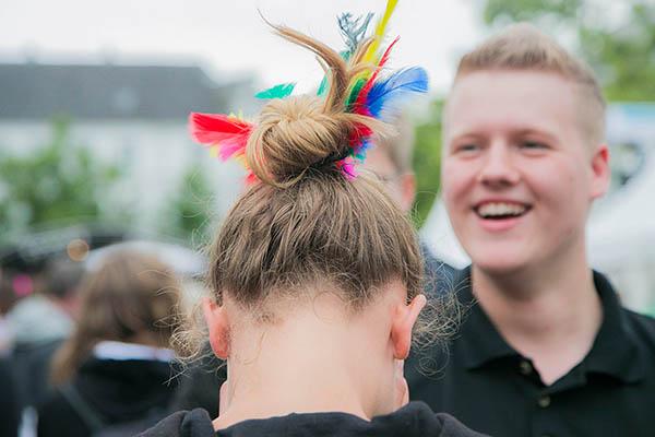 Jung, aktiv, evangelisch: Archivfoto vom Jugendcamp 2014. Foto: Meike Böschemeyer